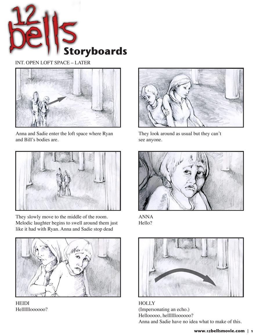 12 Bells Storyboard Sample 1 – Storyboard Sample